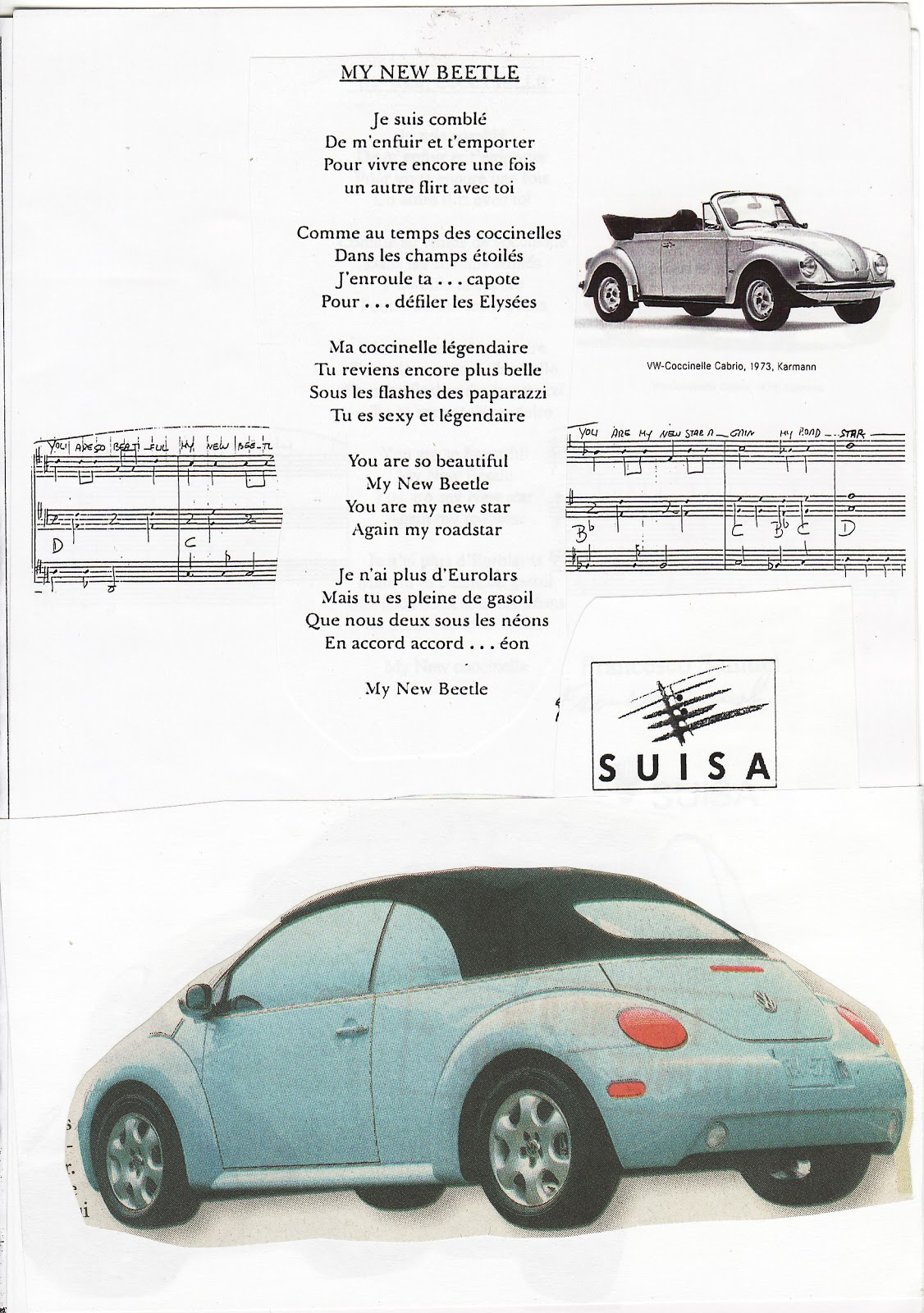 Communications: New Beetle Cabriolet