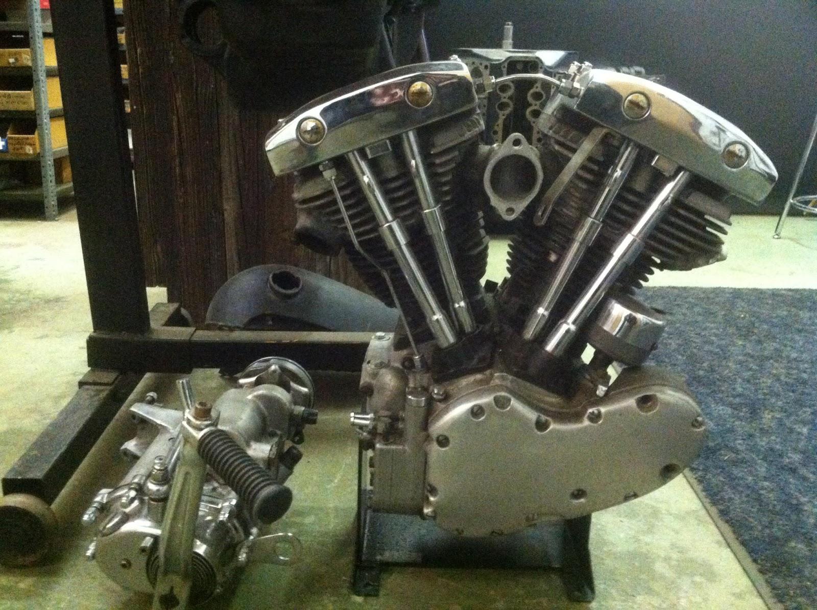 Joe smith early v8 hot rod generator shovelhead 1969 for Generator motor for sale