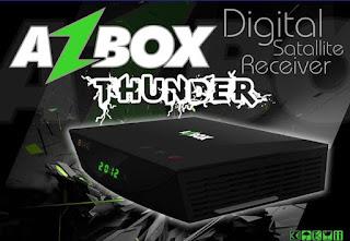 azbox - Nova atualização Azbox Thunder hddata 01/04/2014. Thunder