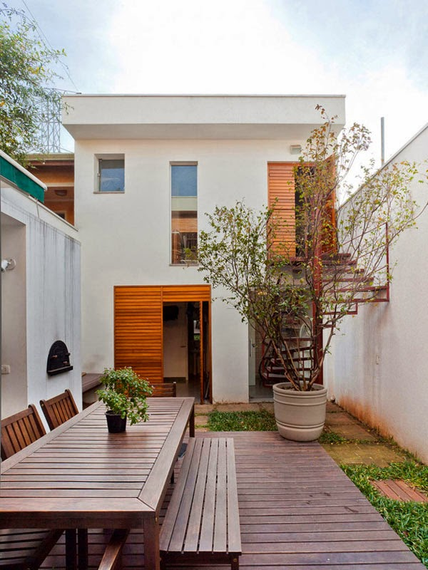 House Designs Long House Designs With An Outdoor Living Concept