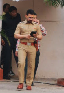 Aamir Khan Look as Police Officer in Reema Kagti's Film