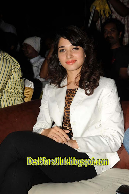 Tamanna Latest Photos in white Dress