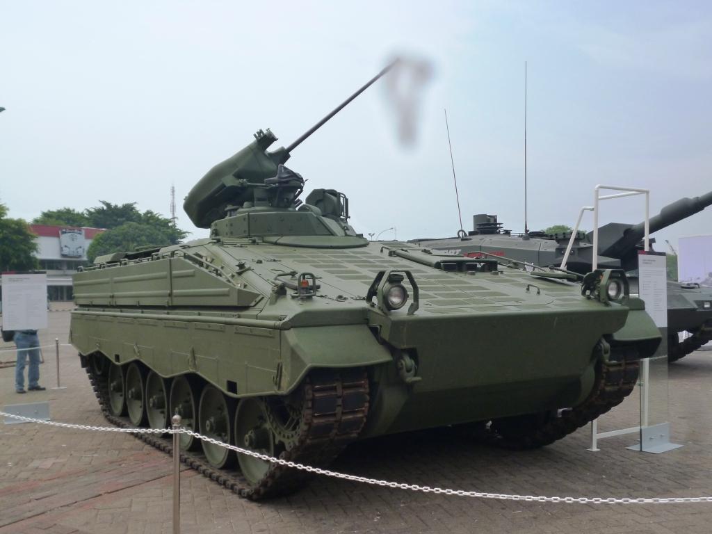 Garuda Militer IFV Marder 1A3 Alutsista TNI AD Terbaru