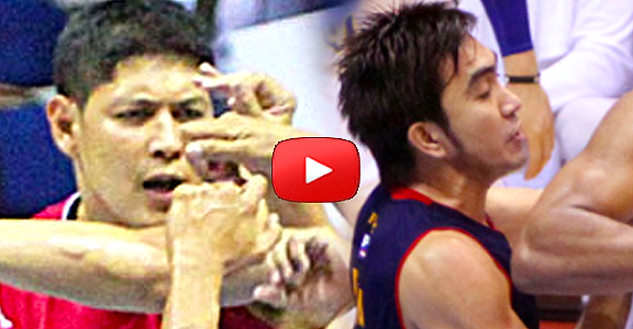 PBA: Enrico Villanueva - Ryan Arana Brawl (VIDEO)