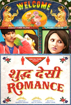 Shuddh Desi Romance (2013) Hindi Movie 350MB DVDRip
