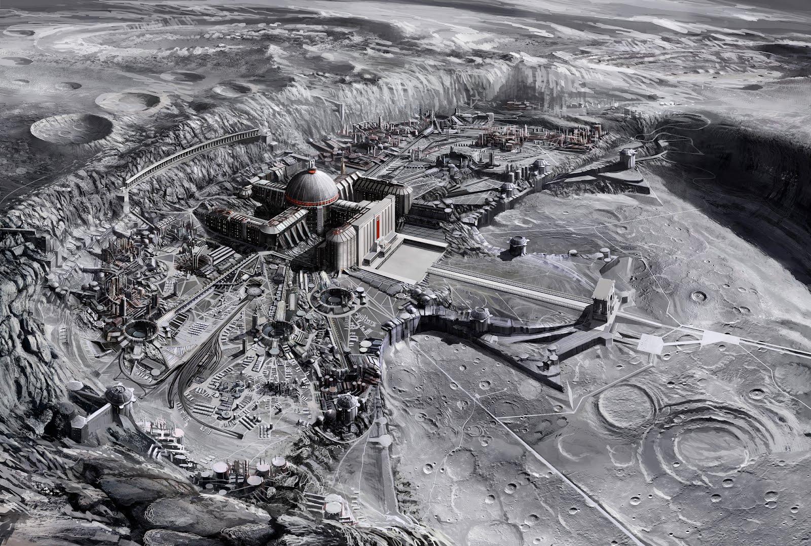 Beberapa Adegan Dalam Film Iron Sky Yang Menakjubkan Dari Foto Foto