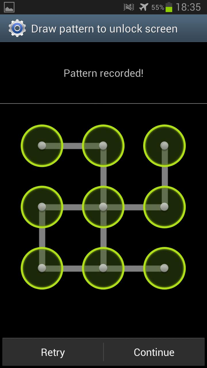 Unlock Phone Pattern Best Inspiration Design