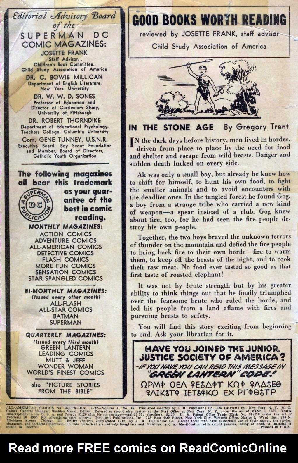 Read online All-American Comics (1939) comic -  Issue #45 - 2