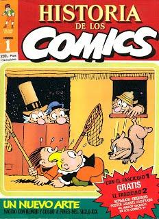 Historia de los Comics, (Toutain, 1983) Javier Coma.48 volúmenes