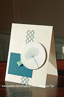 stampin up, summer silhouettes, handmade card