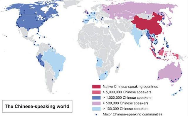 Chino mandarin en el mundo