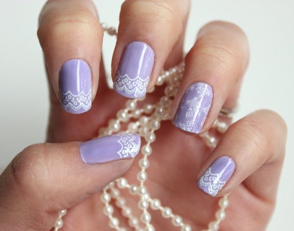 We Did Another Konad Tutorial This Time Went With A Lace Look Check It Out On The Blog By Clicking Photo Below If You Re Pinner