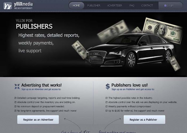 earn money with website yllix