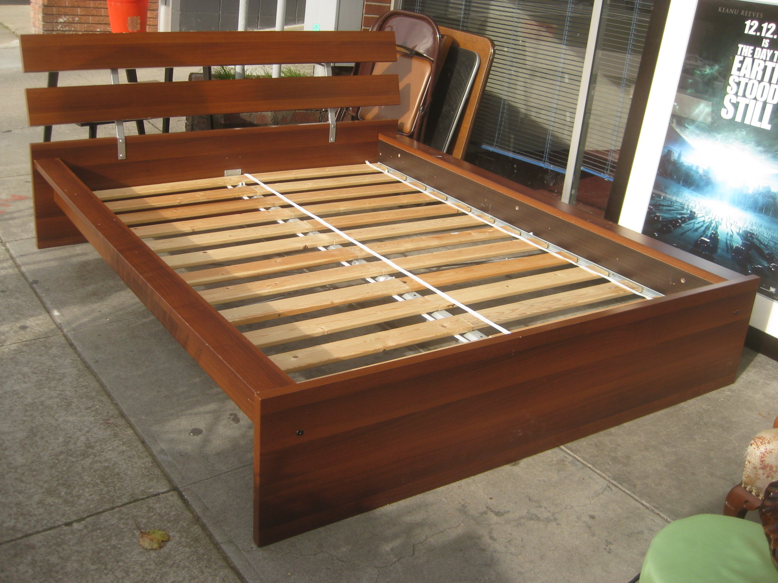 UHURU FURNITURE & COLLECTIBLES SOLD Ikea Full Bed Frame $75