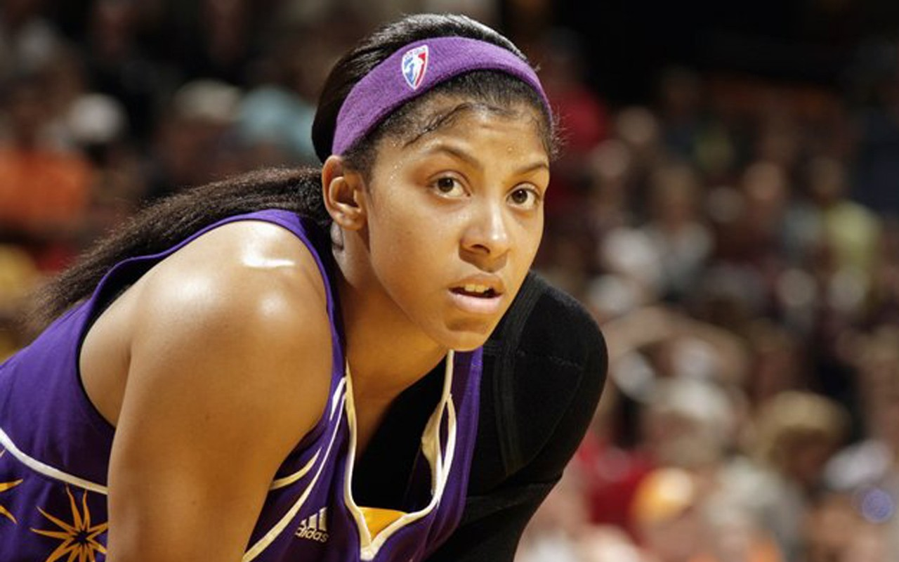 Profile Player Candace Parker Basketball Female American