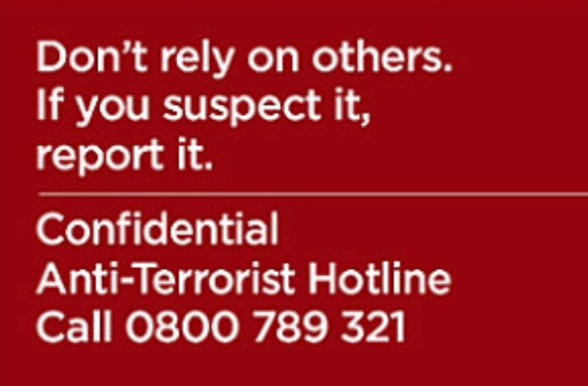 UK Anti-Terrorist Hotline
