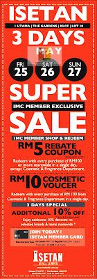ISETAN Super Sale 2012