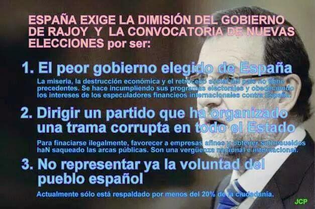 Mariano Rajoy el corrupto