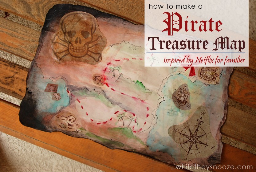 old pirate treasure maps