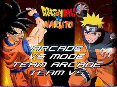 Link download game mugen: Dragon ball and naruto