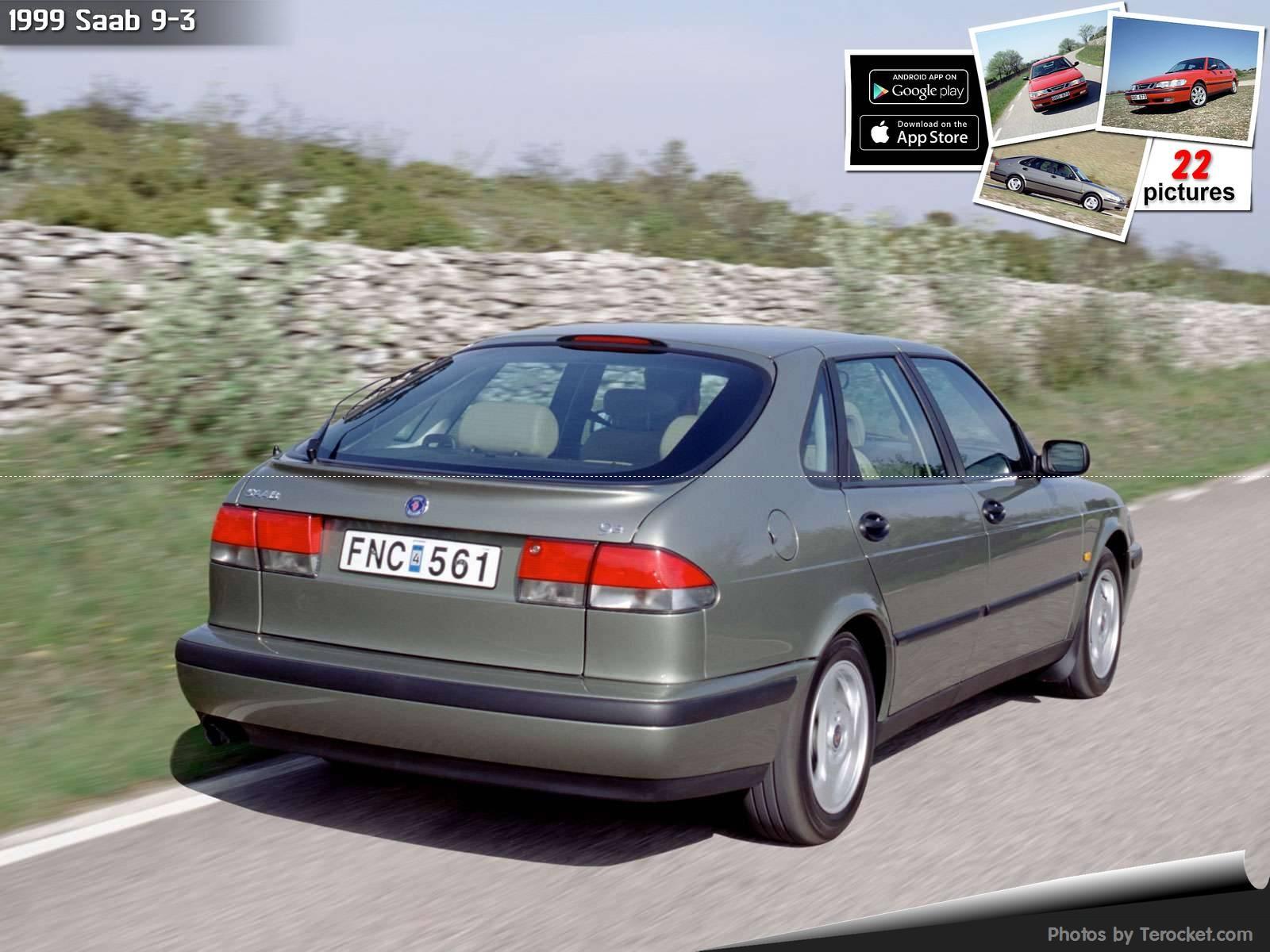 Hình ảnh xe ô tô Saab 9-3 1999 & nội ngoại thất