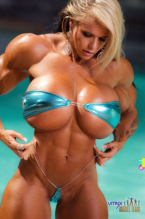 Larissa Reis Female Muscle Morphs Figure