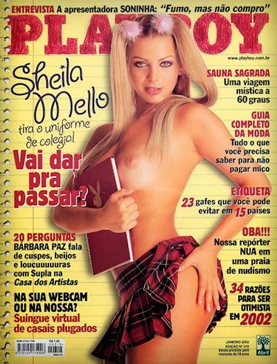 Sheila Mello pelada