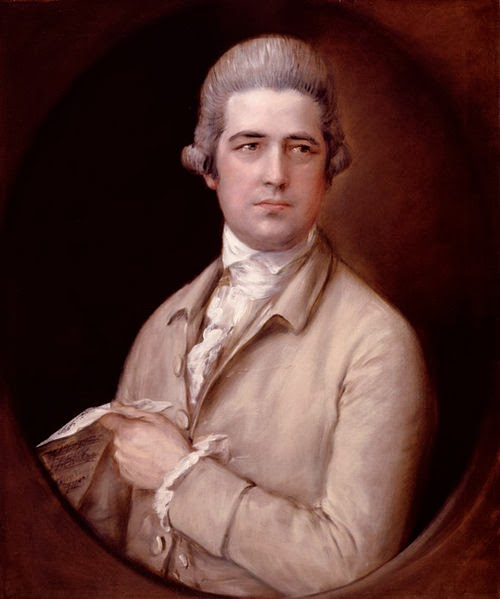 Thomas Linley by Sir Thomas Gainsborough