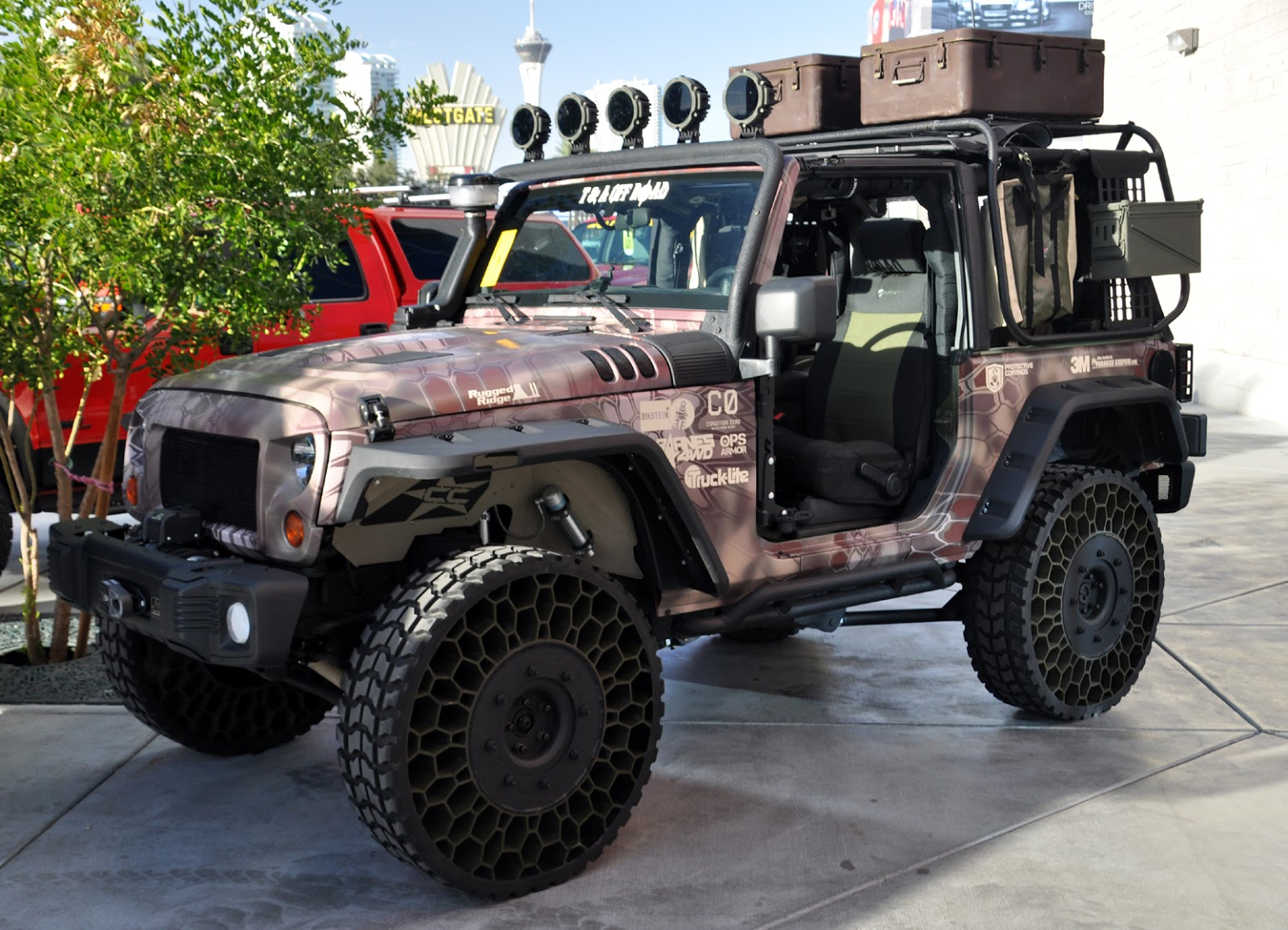 Just A Car Guy The Cool Tweels Are On This Jeep Wrangler
