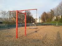 Swing in Gorgie/Dalry Community Park
