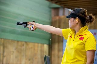 Zhang Jingjing - China - Pistola 25m - Copa do Mundo ISSF de Tiro Esportivo 2013