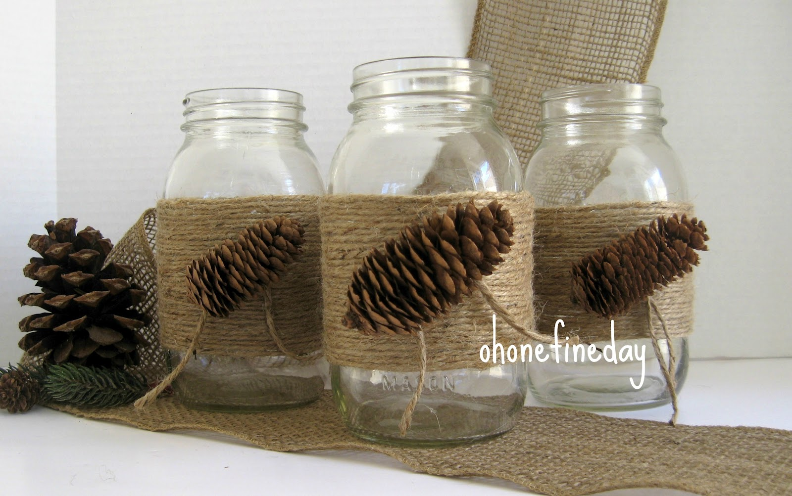 Decorating Mason Jars Oh One Fine Day Mason Jars Wedding Party Decorations