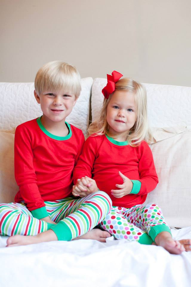 Sibling Matching Christmas Pajamas