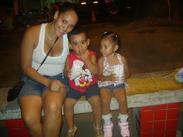 Mamãe, Cellinho e Manu