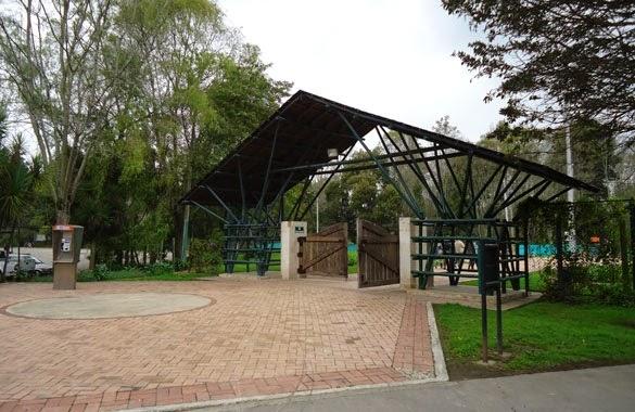 entrada Parque Metropolitano La Florida