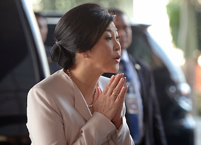 Prime Minister, Yingluck Shinawatra, Thai, Thai Land, Army Club, Bangkok, Snap, Election, Politician, Politics, Crisis, People, Revolution, Protest, Demonstrator, Kingdom, News