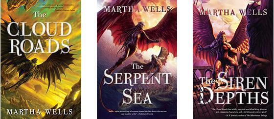 Books of the Raksura Series Covers