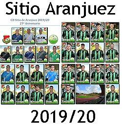 Plantilla Sitio Aranjuez 2019/20