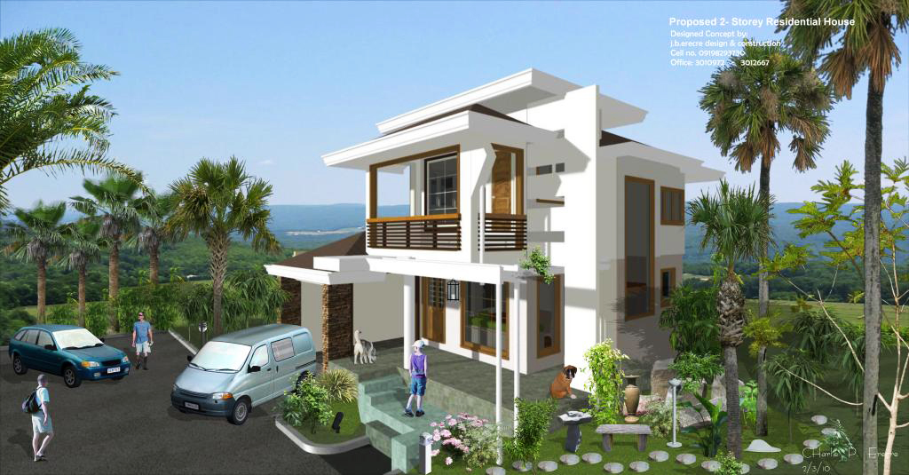 Philippine residential house design - House and home design