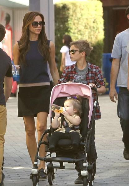 Harper Beckham - David Beckham daughter
