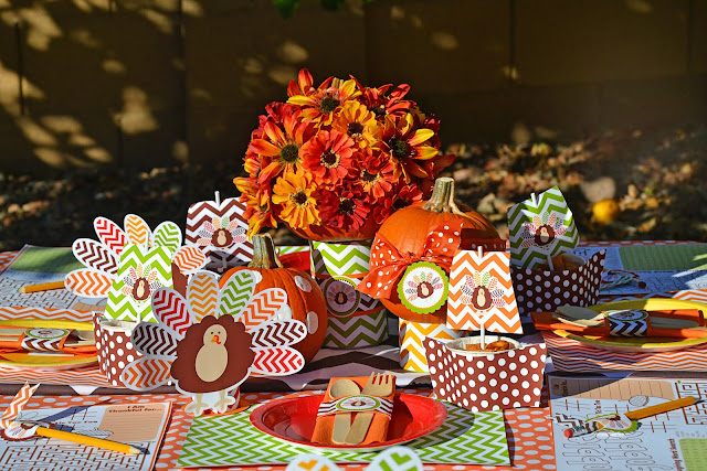 thanksgiving party paper crafts holiday     Thanksgiving Treats