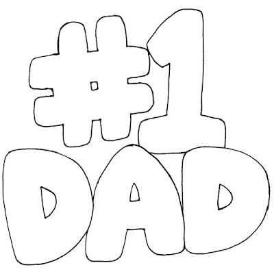 love daddy coloring pages - photo#12