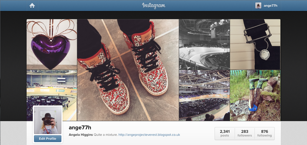 Instagram @Ange77H angeprojecteverest.blogspot.co.uk