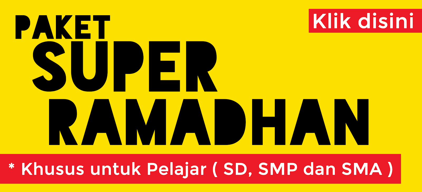 Paket Holiday Super Ramadhan