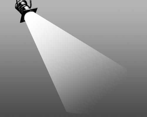"""درس عمل """" مصباح الإضاءة المتحرك """" بالفوتوشوب"""