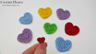 thread crochet heart