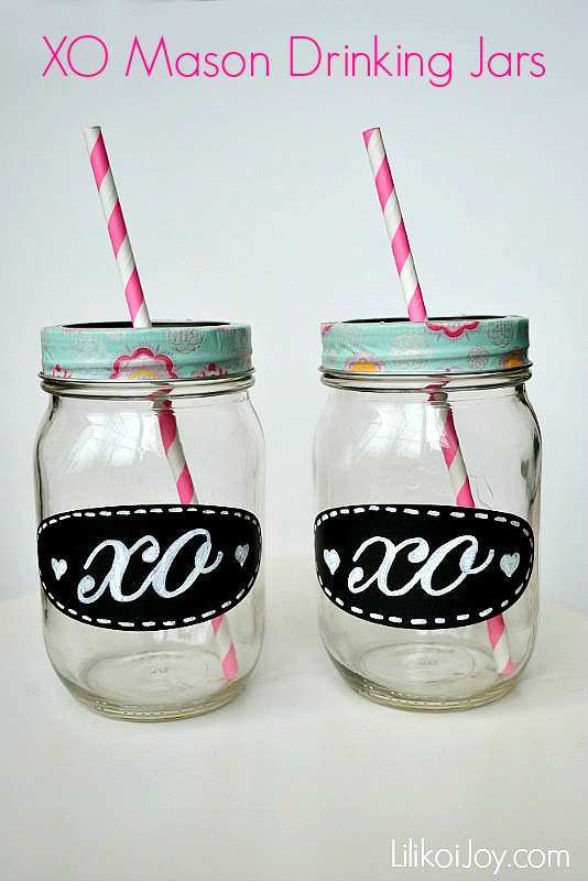 XO Mason Drinking Jars and a Simple Transfer Tracing Technique