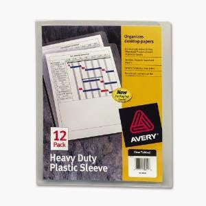 Keep your most important papers in a heavy duty plastic sleeve