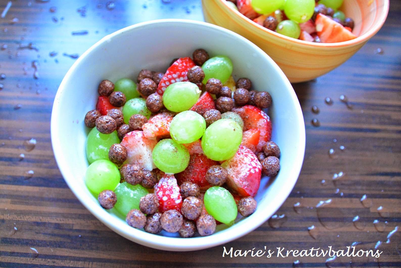 Erdbeerensalat