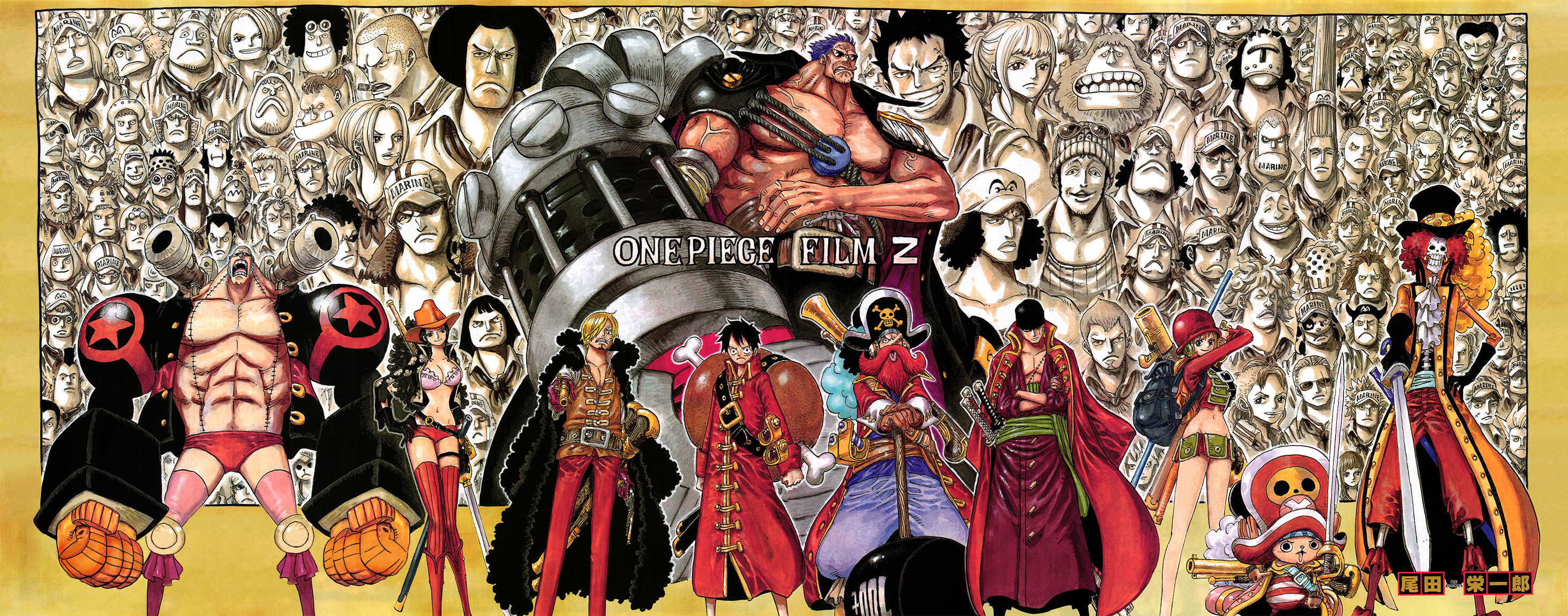 One Piece Chapter 691: Vị vua của vùng đất chết 002